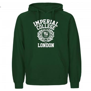 Imperial Wreath Hoodie in Bottle Green